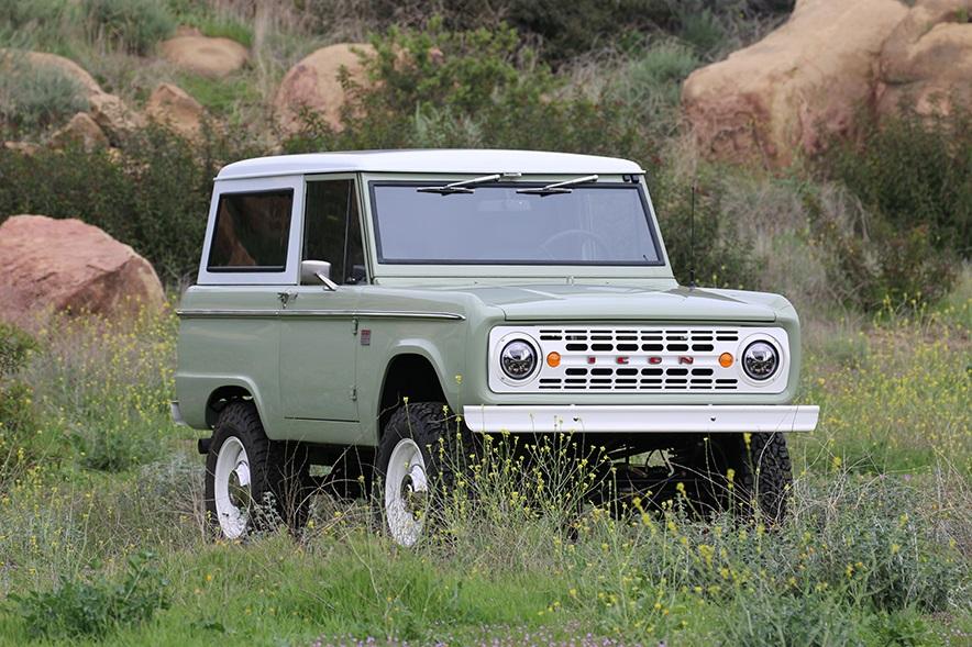 Rinasce in California il 4×4 Ford Bronco icona Anni '60