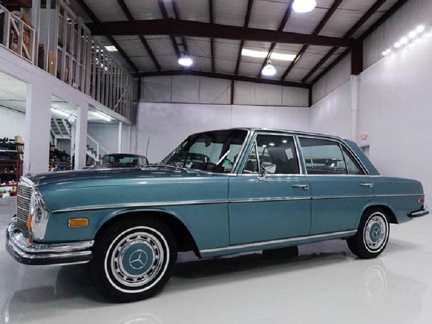 All'asta Mercedes 280 SEL del 1971 usata da Elvis Presley.