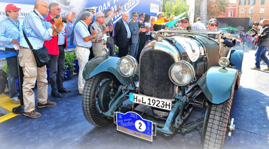 È partito il Gran Premio Nuvolari 2018.