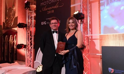 "Il Museo Nicolis vince all' ""The Historic MOTORING AWARDS 2018"" il premio di museo dell'anno."