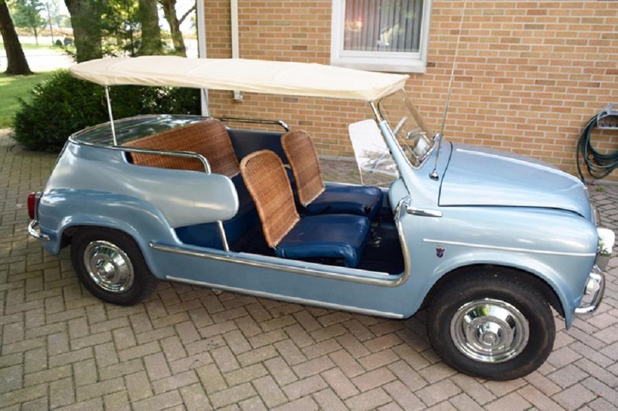 Un aumento strabiliante per una rara Fiat 600D Jolly del 1961.