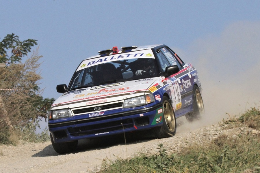 Balletti Motorsport: è vittoria al Rally Legend
