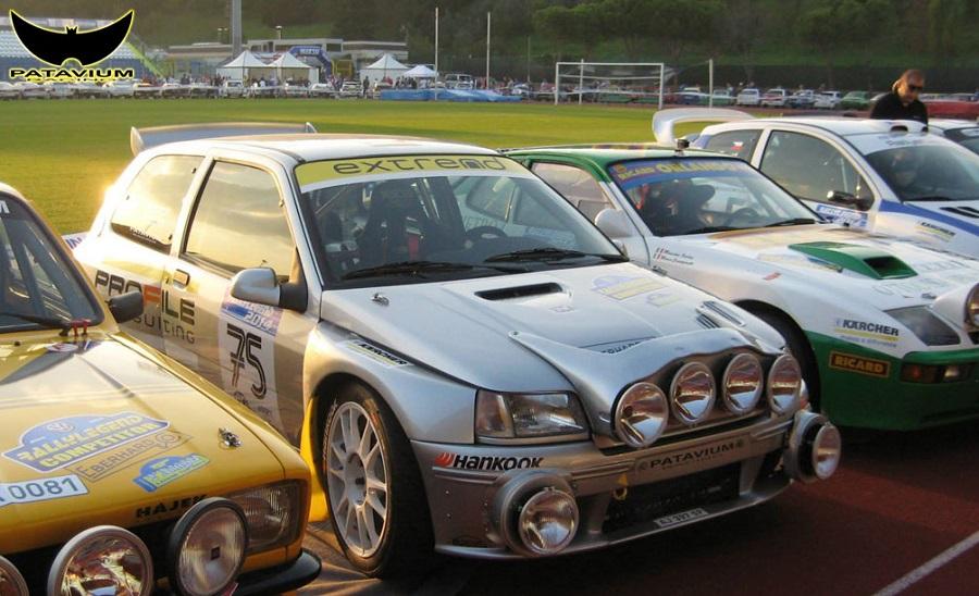 Renault Clio Maxi del Patavium Racing al Rallylegend.