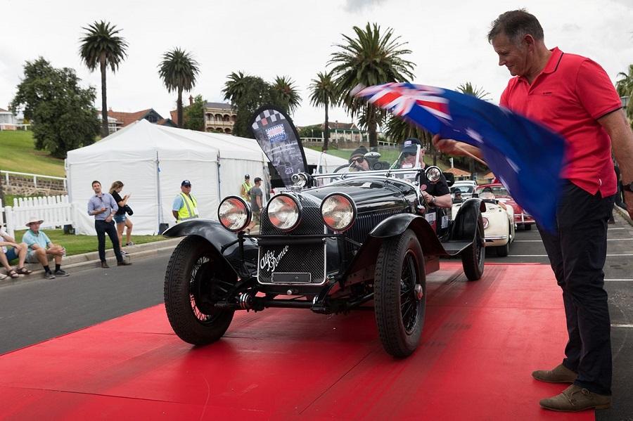 Alfa Romeo partecipa alla Targa Florio Australian Tribute.