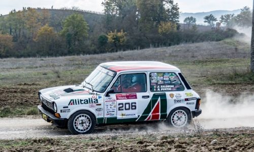 "Trofeo A112 Abarth Yokohama: 7 ""terraioli"" al Tuscan Rewind 2018."