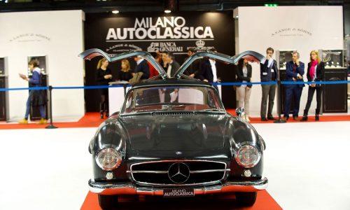 Milano AutoClassica, l'elegante salone meneghino torna dal 23 al 25 novembre prossimi.