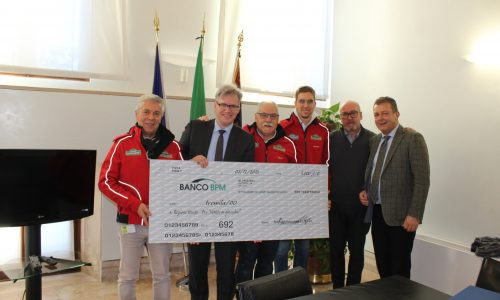 "Il Rally Club Valpantena devolve in beneficenza a ""Veneto in ginocchio""."