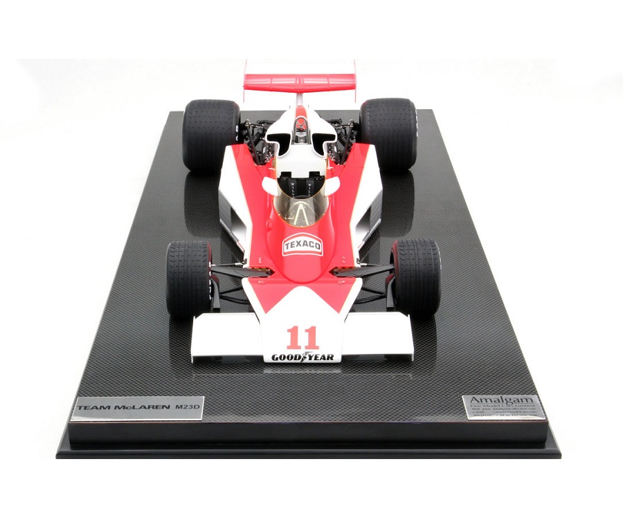 La McLaren F1 di James Hunt in miniatura.
