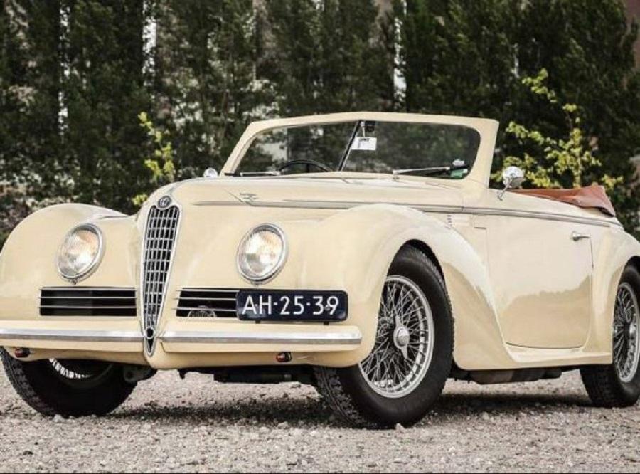Finalmente trovata l'Alfa Romeo 6C 2500 Sport Cabriolet rubata alla Mille Miglia.