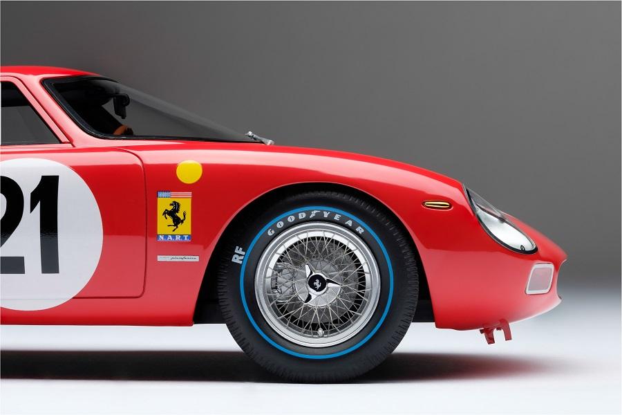 Modellino Ferrari 250 LM del 1965