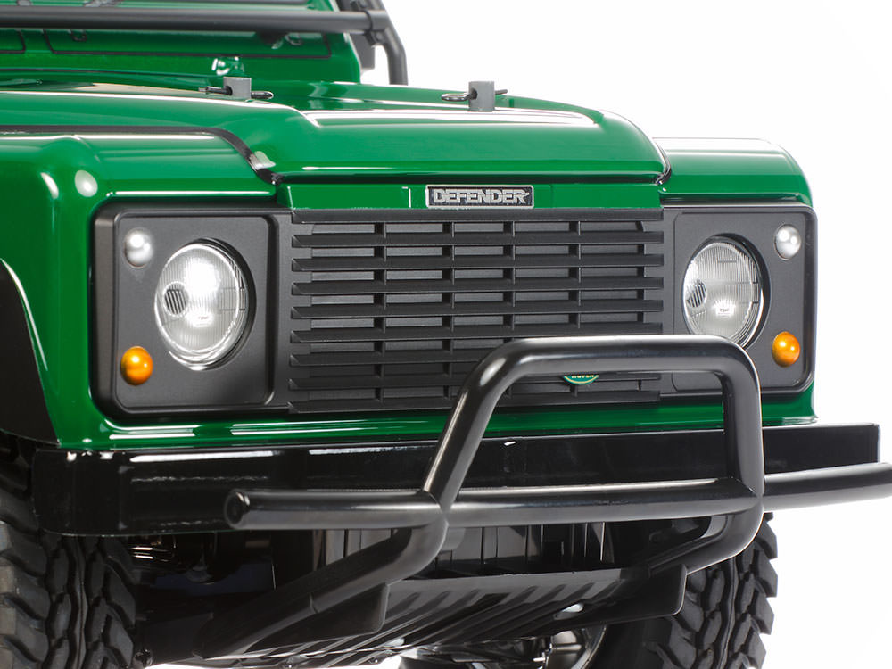 Un bel modellino di Land Rover radiocomandato!