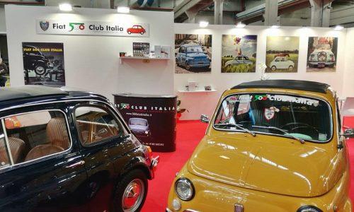 Il Fiat 500 Club Italia ad AutoMotoRetrò 2019.