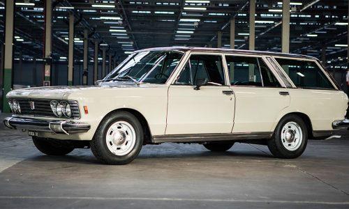 Al Brema Classic Motorshow la singolare Fiat 130 Familiare di Umberto Agnelli.