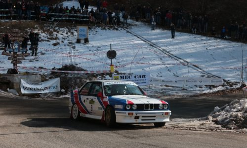 Una BMW M3 domina il 1° Lessinia Rally Historic.