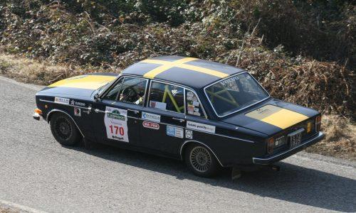 L'equipaggio Volvo, Fabbri-Cipriani, fanno loro la nona edizione del Lessinia Sport.