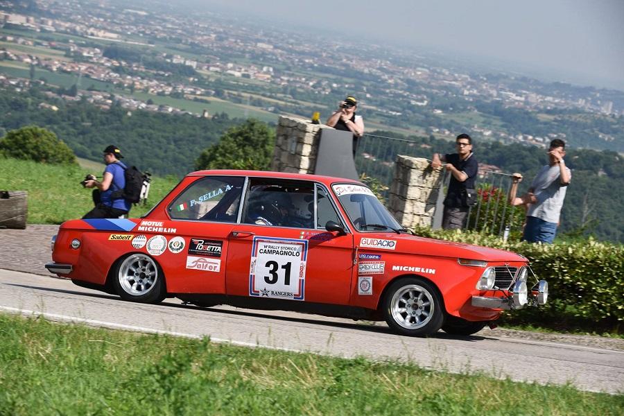 Cambio di rotta per il Rally Campagnolo.