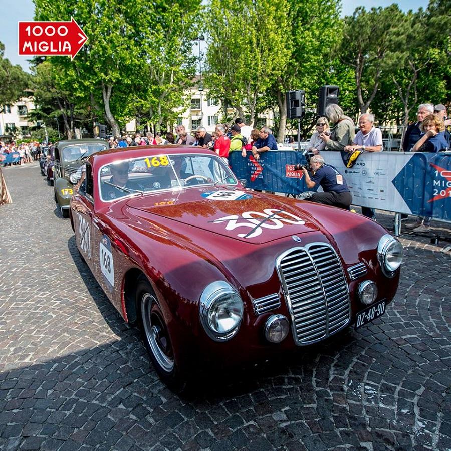 Presentata l'edizione 2019 della 1000 Miglia: 430 equipaggi da 5 continenti.