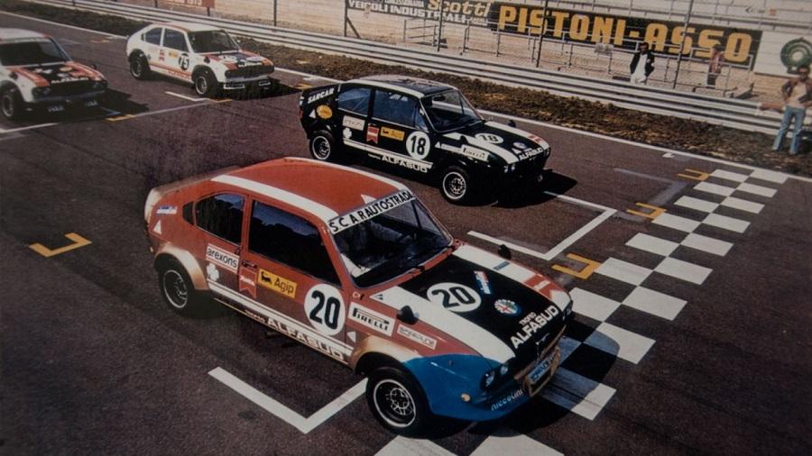 Un libro dedicato al Trofeo Alfasud