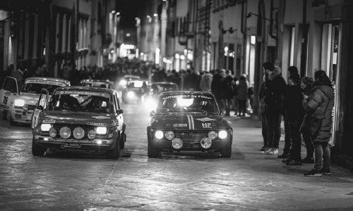Iscritti di gran classe al 9° Historic Rally delle Vallate Aretine.