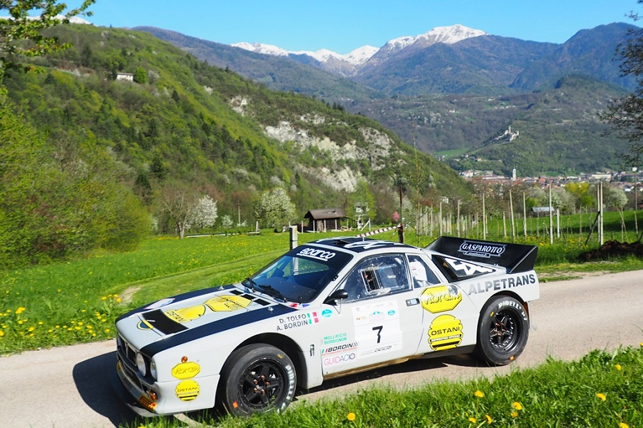 Cambio di percorso per il Valsugana Historic Rally 2019.