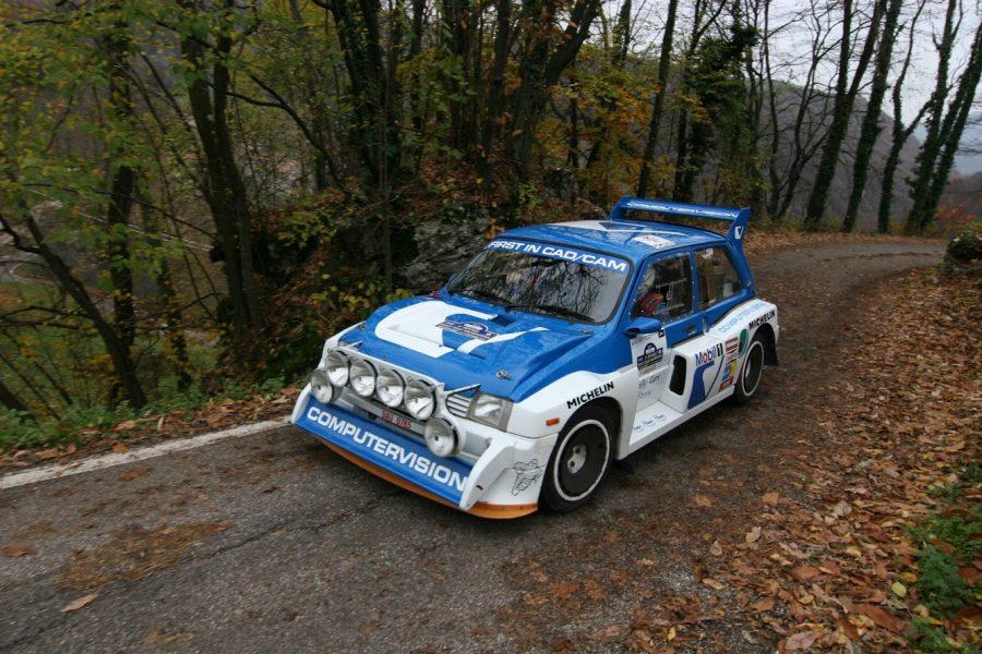 Vecchie prove e grandi classici nel percorso 17° Revival Rally Club Valpantena.