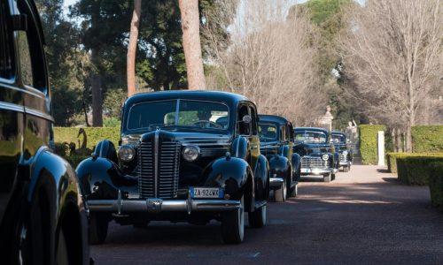 Le vetture storiche dei Papi in mostra a Viterbo