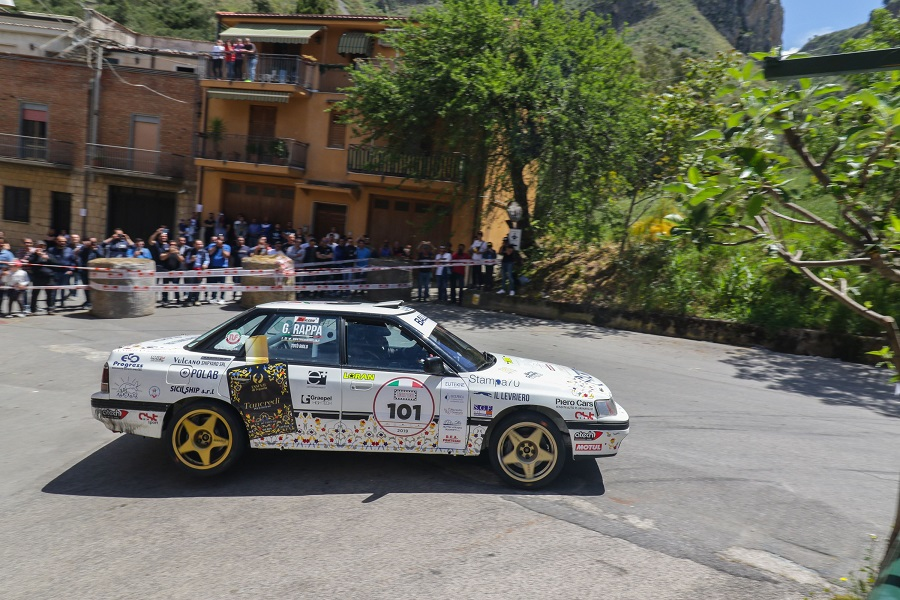 Trionfo per Riolo-Rappa (Subaru Legacy) nella Targa Florio Historic Rally.