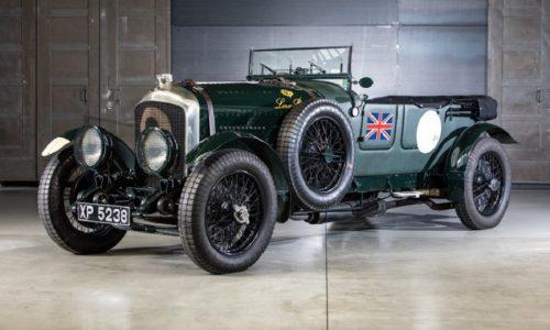 Bentley celebra il suo centenario alla Mille Miglia.