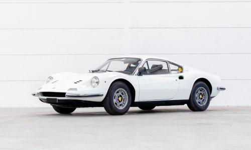 Una Dino Ferrari 246 GT è il top lot all'asta di Bolaffi.