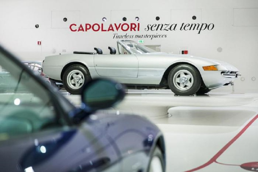 'Capolavori' Ferrari in mostra a Modena