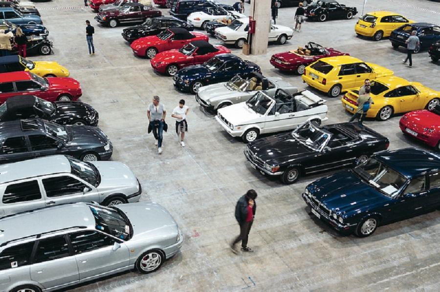 Le auto 'youngtimer' protagoniste a Verona Legend Cars.