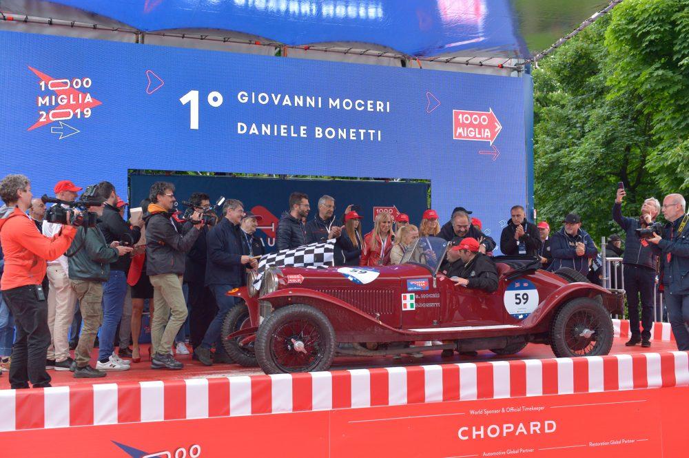 La 1000 Miglia 2019 è meritatamente nelle mani del duo Moceri – Bonetti su Alfa Romeo.
