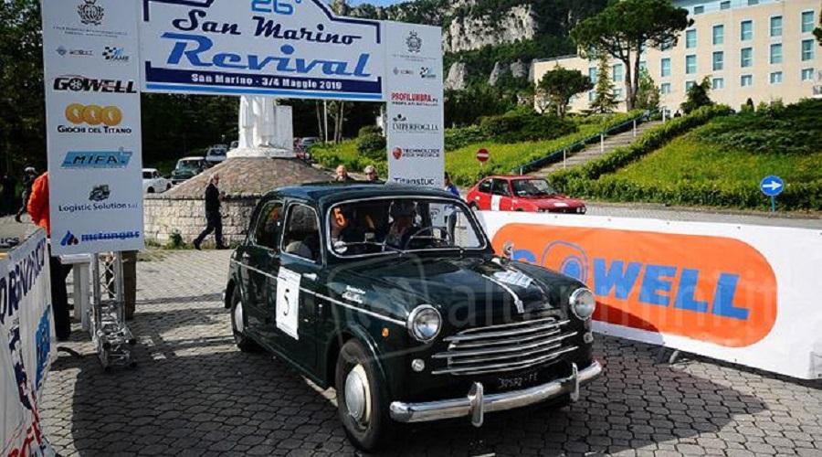 Passanante – Buccioni portano la loro Fiat 1100 alla vittoria del 26° San Marino Revival.