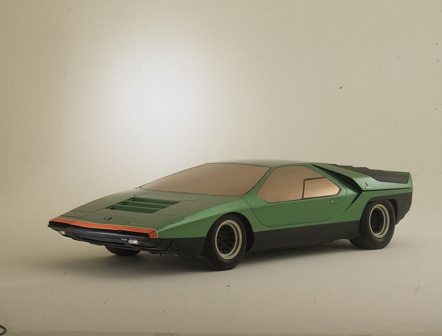 "La concept car Carabo sfila al concorso ""Chantilly Arts & Elegance Richard Mille""."