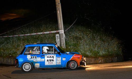 Fiora – Soffritti fanno loro la tappa del Trofeo A112 Abarth al Rally Lana Storico.