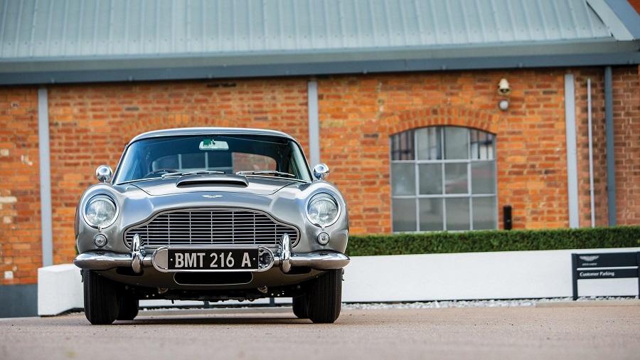 Aston Martin James Bond, all'asta la DB5 di Thunderball.