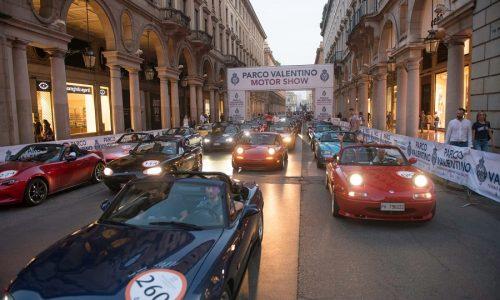 A Torino la festa per i 30 anni della Miata.