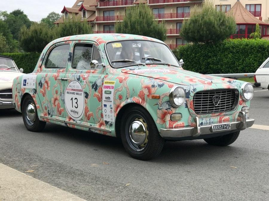 Lancia Appia conquista il Premio per la Combattività al Rallye Des Princesses 2019.
