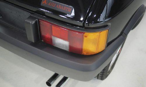 Autobianchi A112 Abarth test ingresso a club auto collezione.