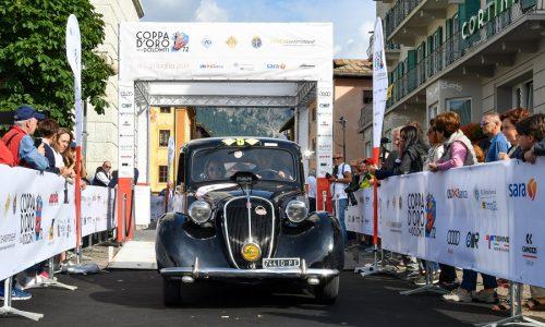 Giovanni Moceri e Valeria Dicembre vincono la Coppa d'Oro delle Dolomiti 2019.