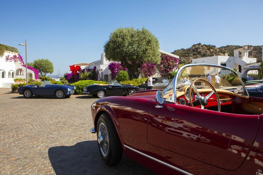 Ferrari regine della Costa Smeralda al Poltu Quatu Classic.