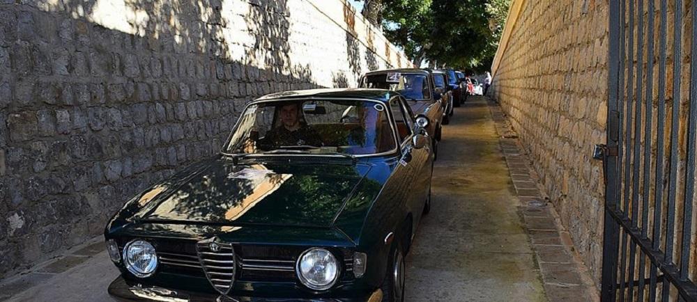 Manifestazione auto d'epoca '100 miglia della Calabria'.