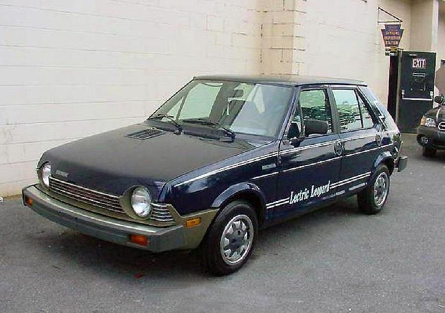 La Fiat Ritmo elettrica per il mercato americano.