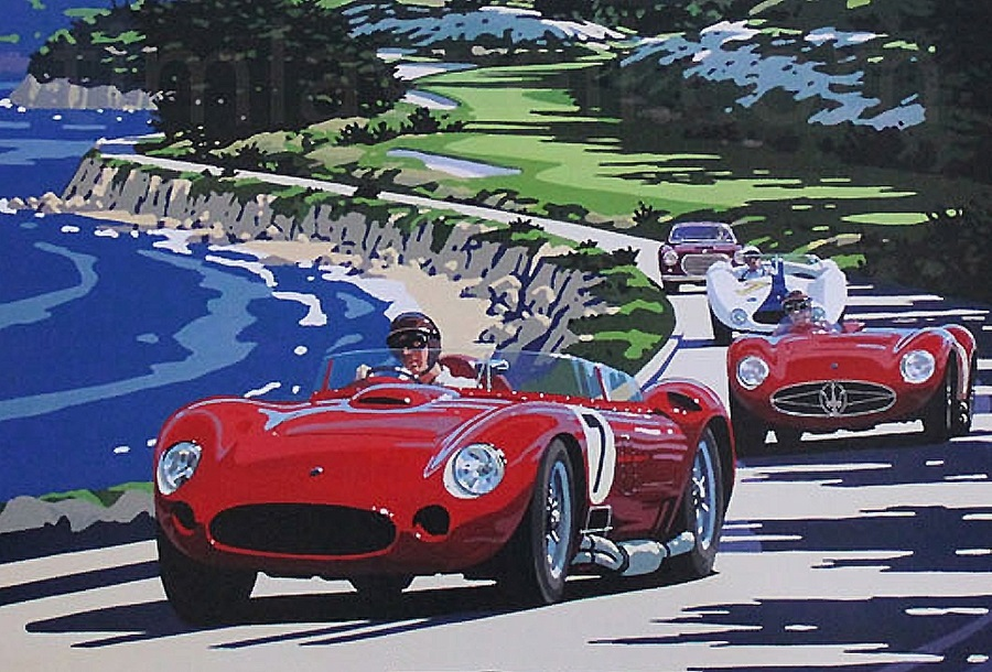 Eventi Monterey e Pebble Beach, 'green carpet' per auto top