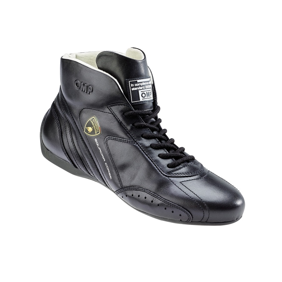 OMP firma le scarpe da pilota di Lamborghini