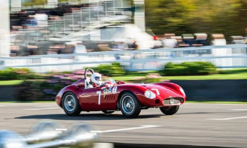 Maserati di ieri e di oggi superstar al Goodwood Revival.