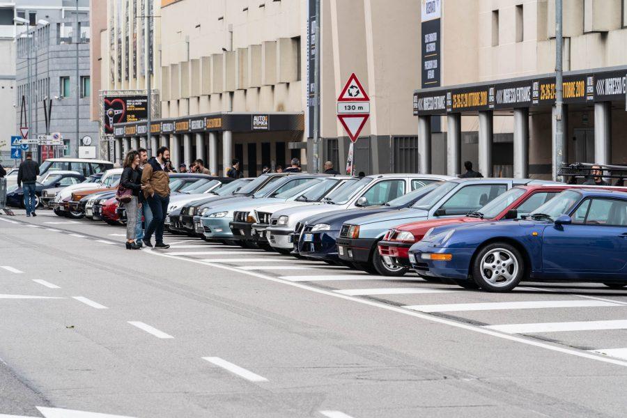 Ferrari, Alfa, Mercedes, le 'youngtimer' protagoniste a Padova.