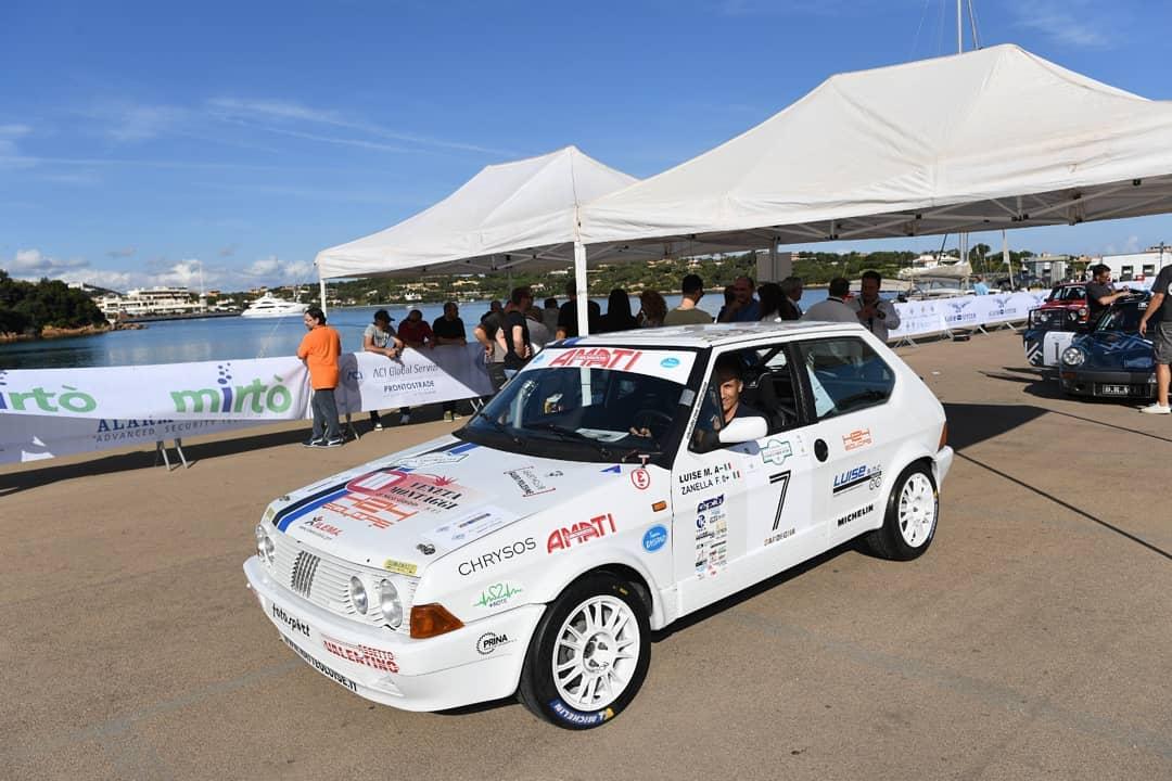 2° Rally Storico Costa Smeralda: vincono Luise e Zanella.