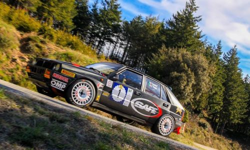 Lucky si riprende l'Europeo Rally Auto Storiche.