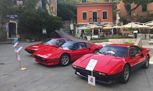 Ferrari e Harley Davidson protagoniste nel Golfo dei Poeti.